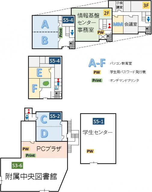 情報基盤センター建物地図